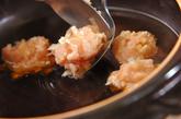 揚げ餅入りみぞれ鍋の作り方2
