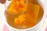 黄桃かんの作り方2