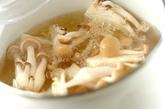 シメジのショウガ風味みそ汁の作り方1
