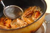 鶏肉の甘辛煮の作り方3