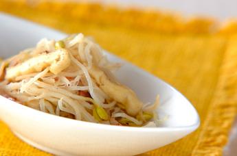 豆モヤシの炒め物