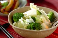 リンゴと白菜のサラダ