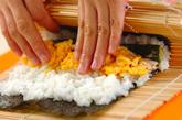 サラダ巻き寿司の作り方4
