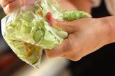 キャベツの梅和えの作り方1