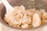 しじみの炊き込みご飯の作り方2