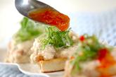 豆腐のトロロ焼きの作り方2