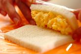 くるくるサンドイッチの作り方3