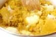 ハロウィンカボチャパイの作り方2