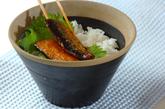 サンマの蒲焼き丼の作り方3