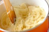 クスクス入りスープの作り方1
