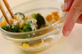 ブロッコリーとコーンのサラダの作り方2