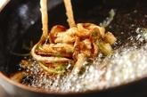 キノコのかき揚げの作り方2