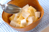 卵豆腐の長芋添えの作り方1