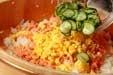 甘塩鮭の簡単混ぜずしの作り方3