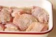 鶏肉のマリネ焼きの下準備2