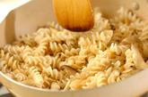 キノコパスタと野菜スープの作り方2