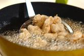 鶏軟骨のコリコリ揚げの作り方1
