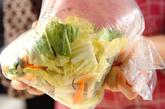 白菜の昆布漬けの作り方1