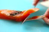 タラ鮭ぞうすいの作り方1