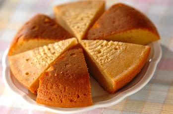 炊飯器で作るキャラメルケーキ