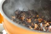 ヒジキのサバ缶煮の作り方3