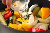 夏野菜のカレー煮込みサラダ仕立ての作り方2