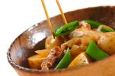 新ジャガと鶏肉の煮物の作り方3