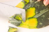 カボチャのチーズ和えの作り方1
