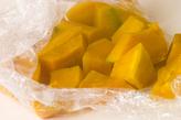 カボチャのチーズ和えの作り方2