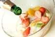 フルーツパンチの作り方1