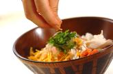 ひんやり鶏飯の作り方1