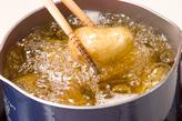 新ジャガと手羽先煮の作り方1