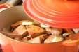 鮭とキャベツの蒸し煮の作り方4