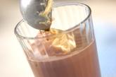 ココアフロートの作り方3