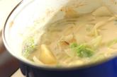 くったり白菜のミルク煮の作り方3