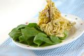 クリーミーパスタサラダの作り方1