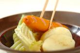春野菜とソーセージのシンプル煮込みの作り方2