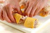 七夕の豚しゃぶ巻きトマトつけ麺の作り方5