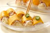 七夕の豚しゃぶ巻きトマトつけ麺の作り方6
