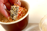 サーモンとポテトのひとくちフライの作り方2