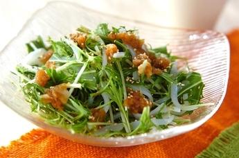 イカのお刺身サラダ