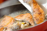 鮭のクリーム煮の作り方4