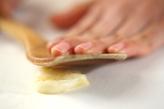 マッシュルームのバターソテー の下準備3