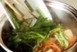 モヤシのサッと煮の作り方2