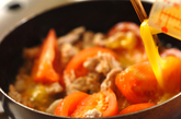 豚トマト卵炒めの作り方3