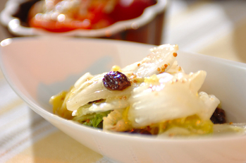 白菜のビネガー和え