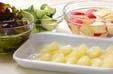 グレープフルーツサラダの下準備2