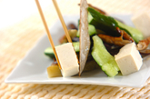 ナスと豆腐のバンバンジー風の作り方2