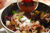 ナスとピーマンのピリ辛炒めの作り方4