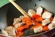 白菜と鶏肉のサッと炒めの作り方1